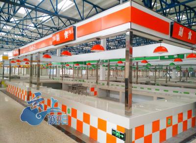市区首个标准菜市场建成 明天开业