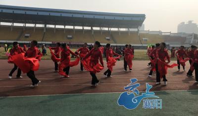 【襄马来了】  樊城6个展演节目进行彩排