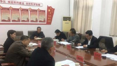 市领导调研襄城安全生产工作