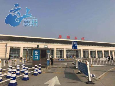 襄阳东站交通堵塞有所好转