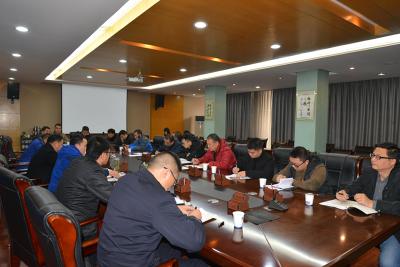襄阳市城建委集体约谈10家管线单位
