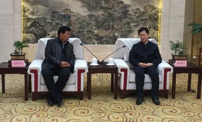 郄英才会见琼结县党政代表团 希望加强两地经济社会合作