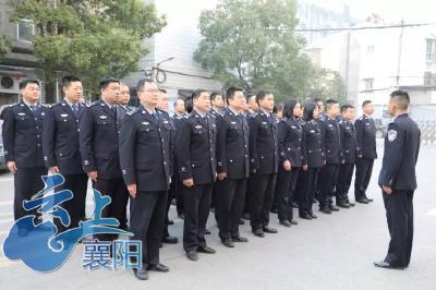 """樊城区公安分局开展精准扶贫""""慈善一日捐""""活动"""