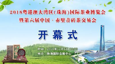 第六届中国·赤壁青砖茶交易会开幕式