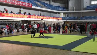 襄阳举行首届青少年武术搏击邀请赛  300多名选手参赛