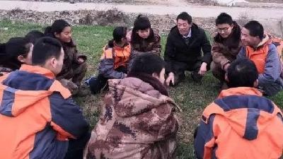 心智学校与阳光家园孩子举办手拉手活动