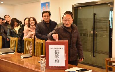 襄阳市城建档案馆走访慰问社区困难群众