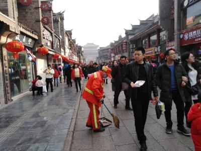 城区清理垃圾7300吨,襄阳干净过春节!