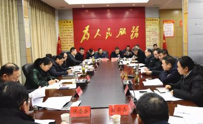 樊城区安排部署2019年城建和棚改工作任务