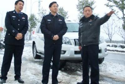 春节我在岗   襄阳公安交警履职护平安