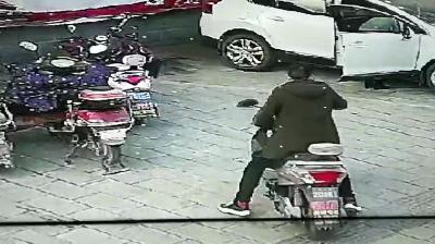 襄阳一男子多次盗车被警方抓获