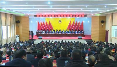 政协枣阳市第八届委员会第三次会议胜利闭幕