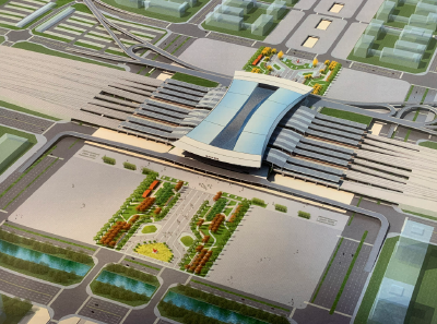 东津高铁八个月后投入使用,周边将这样规划……