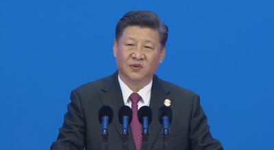 """习近平分别会见出席第二届""""一带一路""""国际合作高峰论坛的部分国家领导人"""
