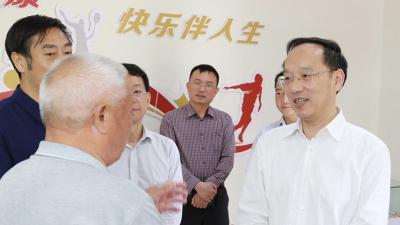 李乐成:紧盯基层组织建设核心目标 确保三安行动取得成效
