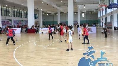 """""""小篮球""""联赛首次在襄阳举办"""