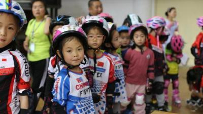 """燃爆!""""襄阳市第一届少儿速度轮滑选拔赛""""圆满举行"""