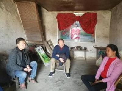 襄阳市中环水务公司领导深入白云庵村开展走访调研