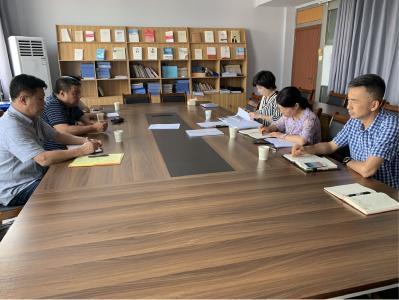 省文旅厅督导组赴襄城区督导文旅系统扫黑除恶专项斗争工作