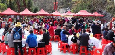 尧治河举办首届民俗文化旅游节
