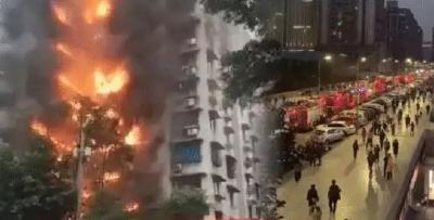 """如果有一天,你面临了火灾....别再给消防通道添""""堵""""!"""