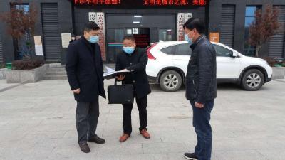 吕义斌深入南漳县镇区检查督导疫情防控工作
