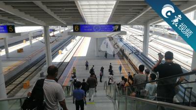 【襄视频】襄阳首开到青岛高铁