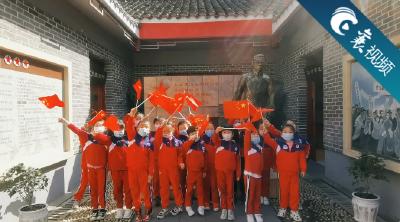 【襄视频】暖心!艺术幼儿园的孩子们爱国情怀都是满分!