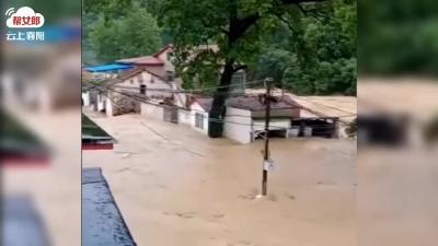 【襄视频】南漳县遭遇强降雨袭击