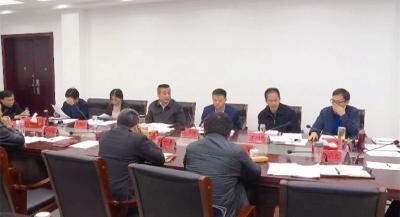 詹才红主持召开第十七届政府常务会第35次会议