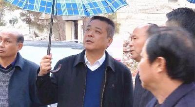 詹才红督办城南项目征迁 要求集中精力扫尾收官