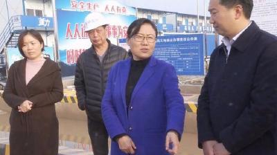 """赵少莲:牢固树立""""以人民为中心""""发展理念 加快还建房建设"""