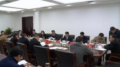 詹才红主持召开第39次县政府常务会议