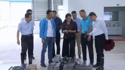 赵少莲到河西新兴工业区调研 要求形象进度争上游 力推高质量发展