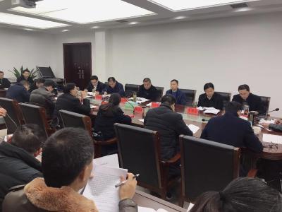 詹才红参加县政府办支部主题党日活动