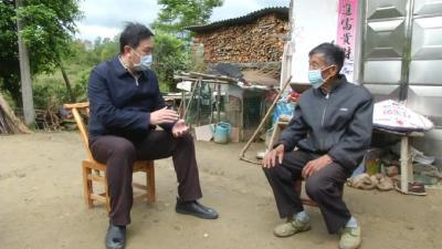 视频丨省住建厅厅长李昌海来我县调研
