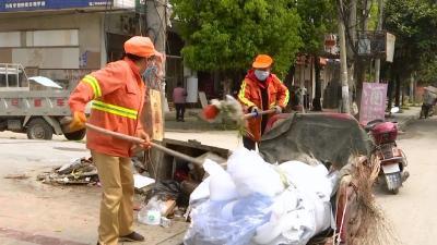 视频丨横车镇整治环境卫生