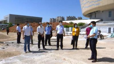 视频丨城南现代服务区全力推进项目建设