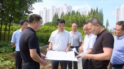 视频丨城南现代服务区协调解决还建房建设难题