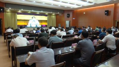 视频丨县委县政府贯彻落实全市防汛紧急视频会精神