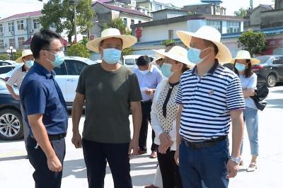 视频丨詹才红调研督办卫生建设项目