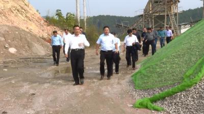 视频丨詹才红督办生态环境重点工作