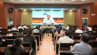 """视频丨市委市政府举行""""坚持以人民健康为中心构建强大的公共卫生体系""""报告会"""