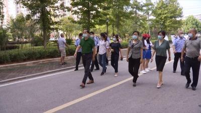 赵少莲检查指导中小学校和幼儿园复学复课工作