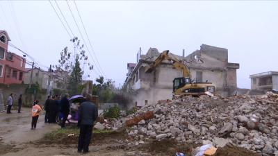 视频丨县城管执法局完成征迁任务
