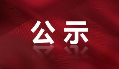 关于蕲春县抗击新冠肺炎疫情拟表彰对象的公示