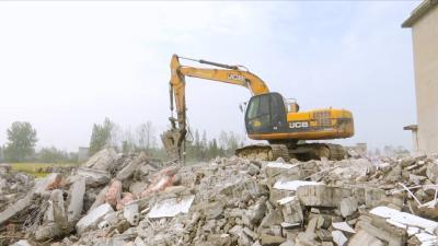 视频丨城南片区加大征收房屋拆除力度