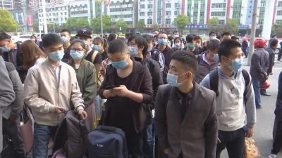 云梦 ▏我县输送3000多名外出务工人员返岗复工