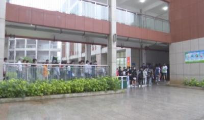 云梦县2806名考生信心满满参加高考