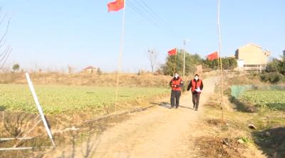 云梦县以党建引领织密疫情防控一张网